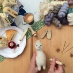 Try needle felting baby alpacas - its great fun