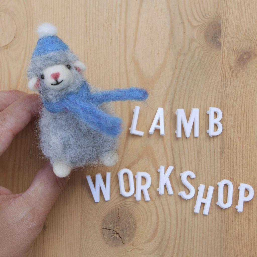 needle felting workshop here at Spring Farm Alpacas